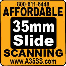 Affordable 35mm Slide Scanning logo
