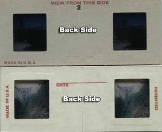 3d stereo slide prep back side